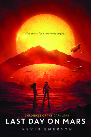Last day on mars book pages