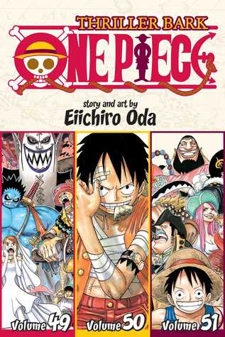 One Piece (Omnibus Edition), Vol. 17: Thriller Bark, Includes vols. 49, 50 & 51