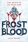 Cover of Frostblood (Frostblood Saga, #1)