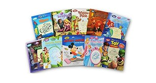 Disney Learn to Draw 10 Book Set: Brave, Enchanted Princesses, Favorite Fairies, Finding Nemo, Mickey Mouse and His Friends, Tangled, The Little Mermaid, The Princess and the Frog, Toy Story, Winnie the Pooh