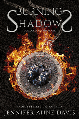 Burning Shadows (Order of the Krigers, #2)