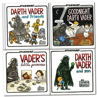 Darth Vader Collection 4 Books Set (Star Wars) (Darth Vader and Son, darth vader and friends, Goodnight Darth Vader, Vader Little Princess