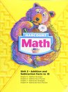 Harcourt Math Unit 2 Addition and Subtraction Facts to 10 (Chapter 5 throw 8)