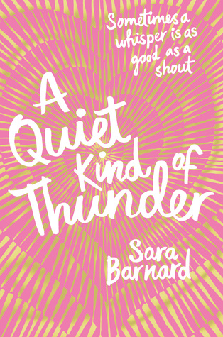 Image result for a quiet kind of thunder image