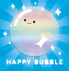 Happy Bubble by Two Astronauts
