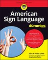 American Sign Language For Dummies (For Dummies (Language & Literature))