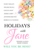 Holidays with Jane: Will You Be Mine? (Holidays with Jane, #6)