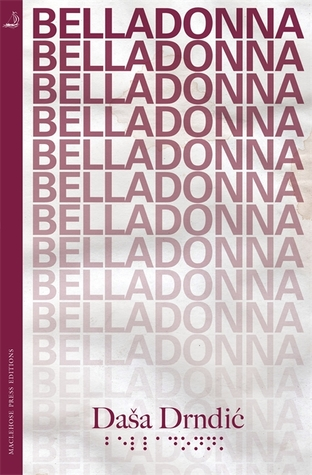 Image result for Belladonna by Daša Drndic
