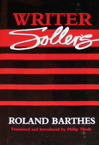 Writer Sollers by Roland Barthes