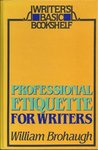 Professional Etiquette for Writers