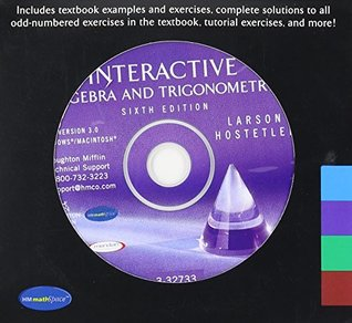 Interactive 3.0 CD-ROM for Larson/Hostetler's Algebra and Trigonometry, 6th