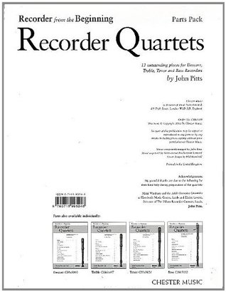 RECORDER FROM THE BEGINNING RECORDER QUARTETS (SET OF PARTS)