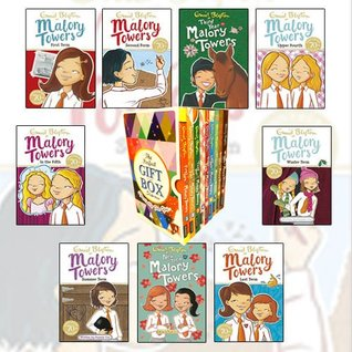 Malory Towers Series Volume (1 to 9) Collection By Enid Blyton 9 Books Bundle Gift Wrapped Slipcase Specially For You