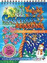 ColorIt Colorful Seasons Adult Coloring Book