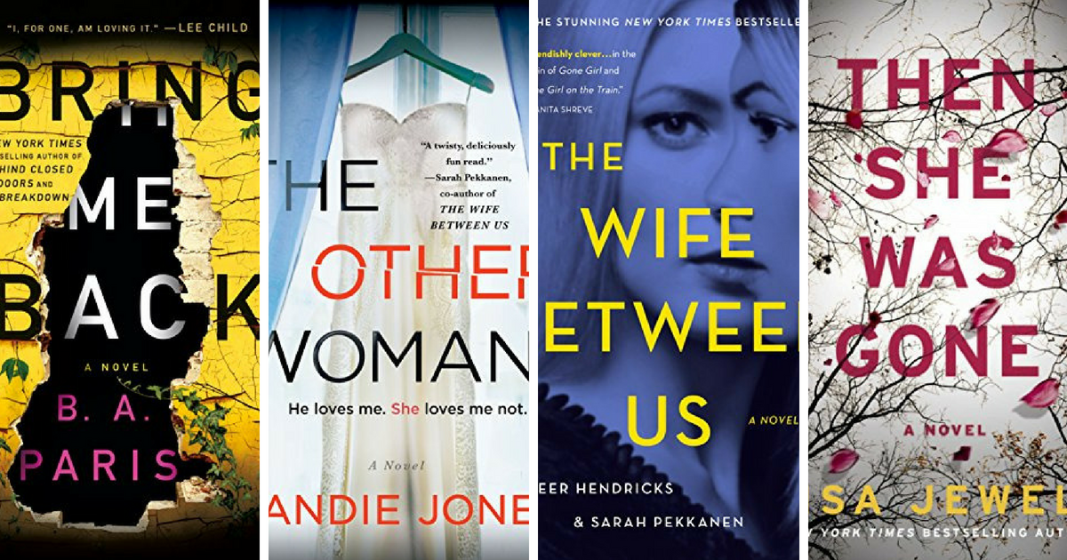 This Year's Must-Read Domestic Suspense Thrillers