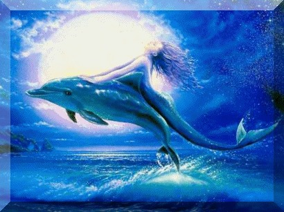 My 2 favorites: Dolphins and mermaids!!!! :)