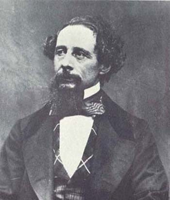 Photograph of Charles Dickens (1858)  Taken by  George Herbert Watkins Permission: (Reusing this file)  This image (or other media file) is in the public domain because its copyright has expired. This applies to the United States, Australia, the European Union and those countries with a copyright term of life of the author plus 70 years.