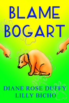 Bogart, a dog with a crazy life and a unique family, shares his journey towards achieving a truce with his family's new feline addition. Bogart endures much humorous sabotage before karma comes to his rescue.  - Link: https://www.goodreads.com/book/show/27390318-blame-bogart?ac=1