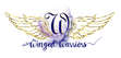 This is a copyrighted logo designed for N.D. Jones, author of the Winged Warriors novella series.