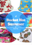 Six bucket hat summer