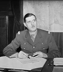 """Quote by Charles de Gaulle: """"The cemeteries are full of"""