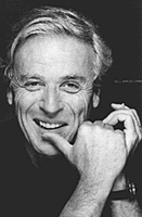 photo of middle-aged William Goldman, smiling