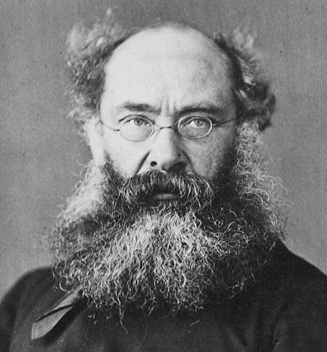 """Quote by Anthony Trollope: """"What on earth could be more"""