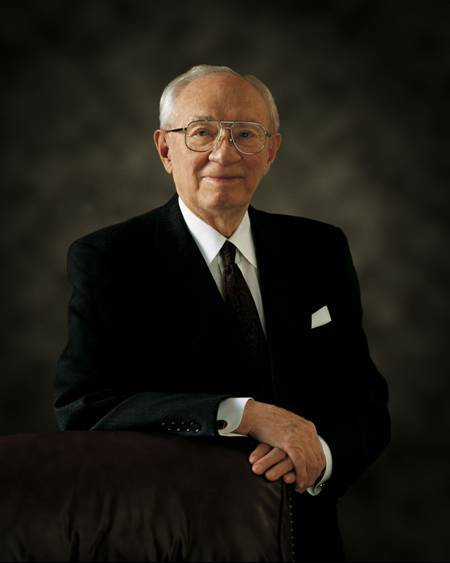 """quote by gordon b hinckley """"how sweet is the assurance how"""