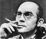 "Quote by Hunter S. Thompson: ""The press is a gang of cruel ..."
