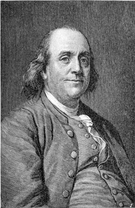 benjamin franklin self made man