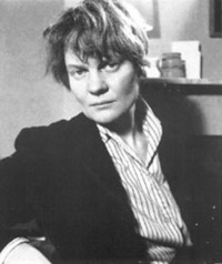 Photo of author, Iris Murdoch