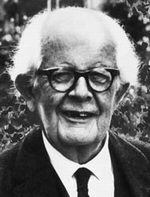 """quote by jean piaget """"the principle goal of education in the"""
