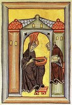 """Quote by Hildegard of Bingen: """"I am the fiery life of the"""