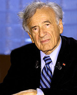 "Quote by Elie Wiesel: ""Suffering pulls us farther away from"