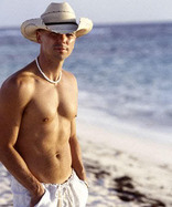 """Quote by Kenny Chesney: """"What you see is kinda what you get ..."""