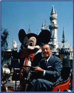 "Quote by Walt Disney: ""Here you leave today and enter the"