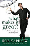 Ebook What Makes It Great: Short Masterpieces, Great Composers read Online!