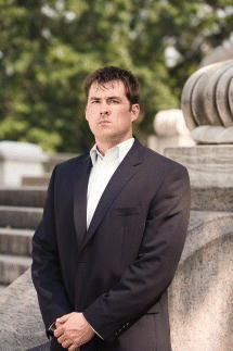 """Quote by Marcus Luttrell: """"Fear is a force that sharpens ..."""