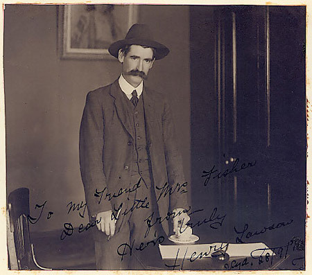 Henry Lawson photo #10321, Henry Lawson image