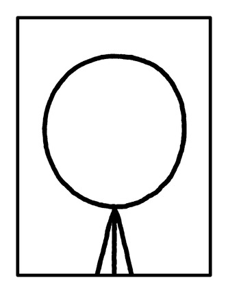 Photo of the author, Randall Munroe.