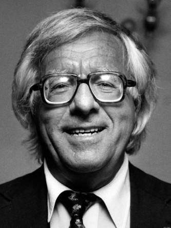 Photo of the author, Ray Bradbury.