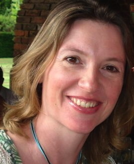 Photo of the author, Julia Golding.