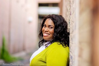 Photo of the author, Angie Thomas.