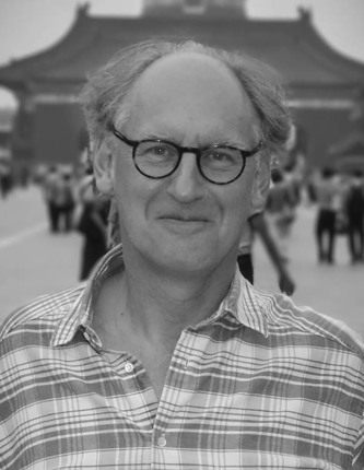 Photo of the author, Andrew Caldecott.
