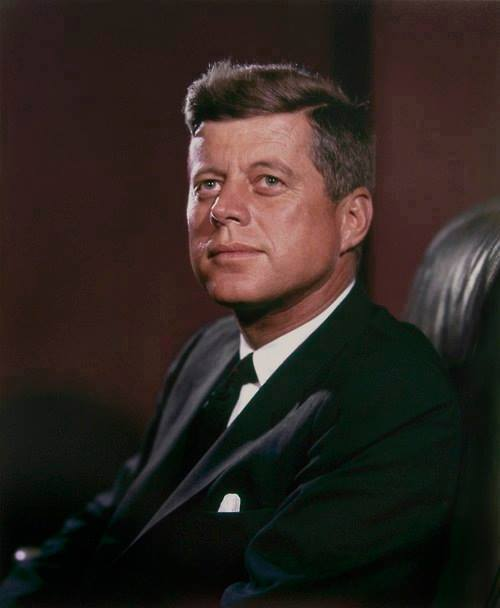 "quote by john f kennedy ""leadership and learning are"