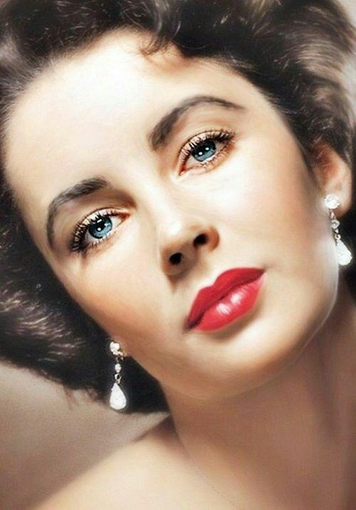 """Quote by Elizabeth Taylor: """"Pour yourself a drink, put on ..."""