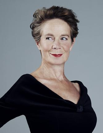Photo of the author, Celia Imrie.