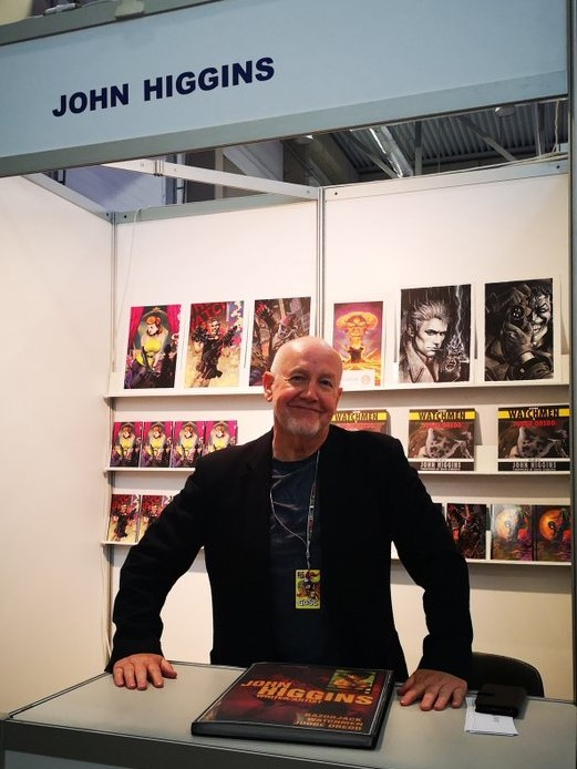 John Higgins Colorist Of Watchmen 1