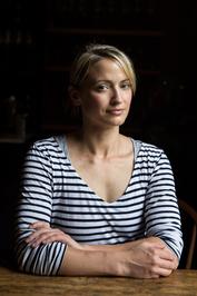 Headshot of author/chef Erin French