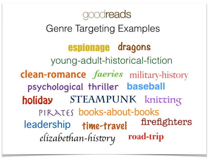 Goodreads Now Offers Ad Targeting Based on 20,000 Authors & 500 Genre Options